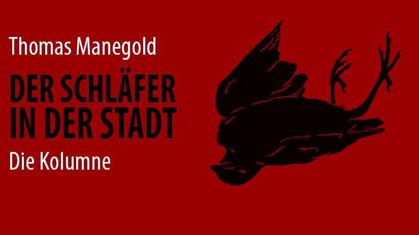 Thomas Manegold - Der Schläfer in der Stadt (c) periplaneta 2014 - All rights reserved