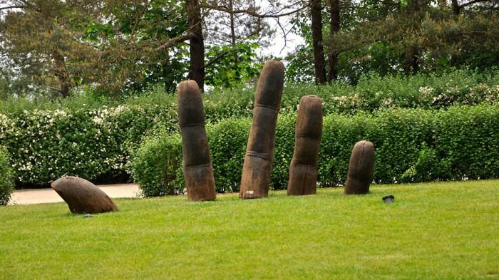 Skulptur auf Usedom